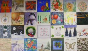 Christmas wall 2015