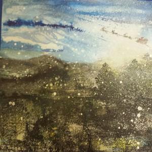 Janet Ashworth Christmas painting