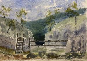 Malcolm Bullock painting