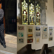 Summer Exhibition is now on in St.Laurence Church, Chorley.