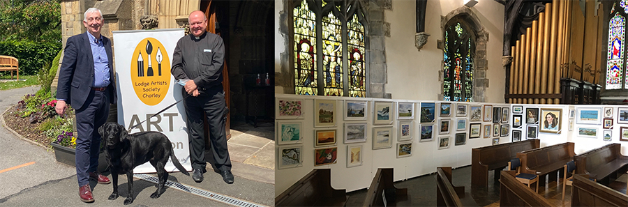 September Exhibitions – Cafe Ambio from 7th Sept. and our HQ in Brinscall Sun. 19th Sept. (one-day)